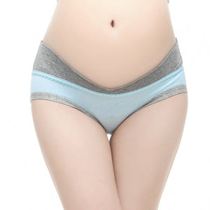 Pregnant Underpants High Quality Pregnant Women Panties Cotton Low-waist Briefs U-shaped Maternity Panties Females Underwear