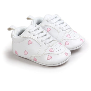 Hot sell baby moccasins infant anti-slip PU Leather first walker soft soled Newborn 0-1 years Sneakers Branded Baby shoes