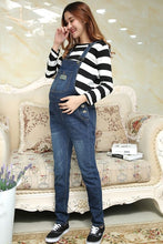 Denim Maternity Suspender Trousers Jeans Pant for Pregnant Women Clothes Prop Dungarees Belly Legging Pregnancy Clothing Overall