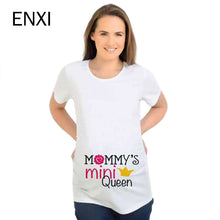 ENXI T-shirt 2018 Maternity Clothing Breastfeeding Clothes Watermelon Printing Pregnant Clothes Cotton Fashion Pregnant