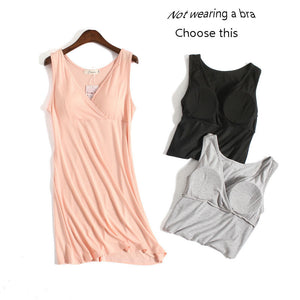 Summer maternity dress thin section pregnancy clothes t shirt Built-in bra v-neck Bottoming shirt breastfeeding clothing 1pcs