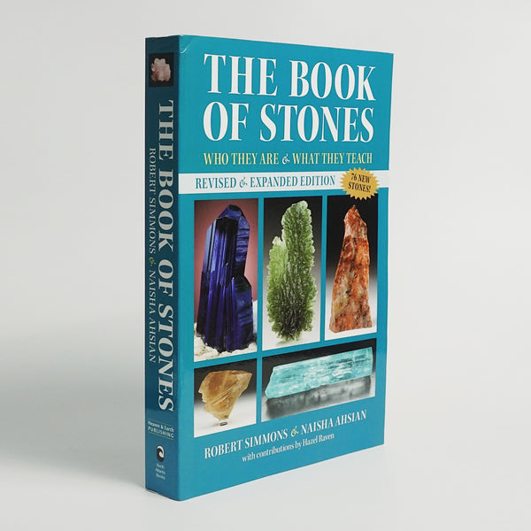 The Book of Stones by Robert Simmons and Naisha Ahsian - Gaea | Crystal Jewelry & Gemstones (Manila, Philippines)