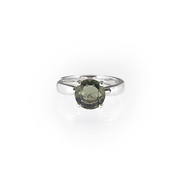 Moldavite Faceted Round Cut - Gaea | Crystal Jewelry & Gemstones (Manila, Philippines)