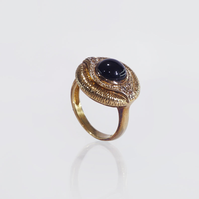 Onyx with White Topaz - Gaea | Crystal Jewelry & Gemstones (Manila, Philippines)