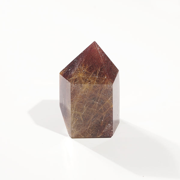 Golden/Copper Rutilated Quartz Point B