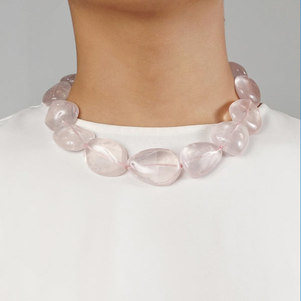 Rose Quartz Tumble - Gaea | Crystal Jewelry & Gemstones (Manila, Philippines)