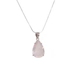 Rose Quartz Pear - Gaea | Crystal Jewelry & Gemstones (Manila, Philippines)