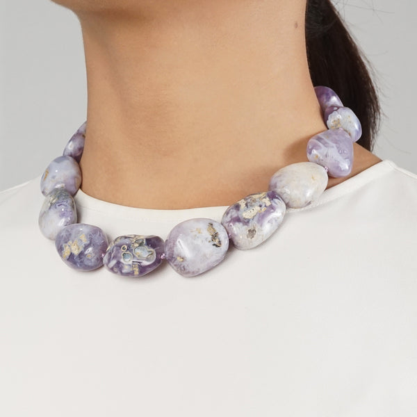 Purple Chalcedony Tumble - Gaea | Crystal Jewelry & Gemstones (Manila, Philippines)