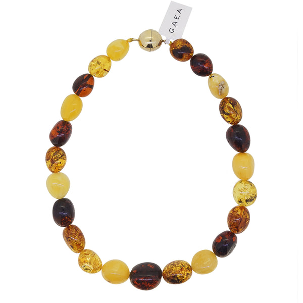 Amber Tumble (L) - Gaea | Crystal Jewelry & Gemstones (Manila, Philippines)