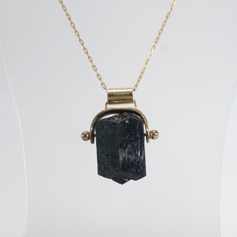 Raw Black Tourmaline (L) - Gaea | Crystal Jewelry & Gemstones (Manila, Philippines)