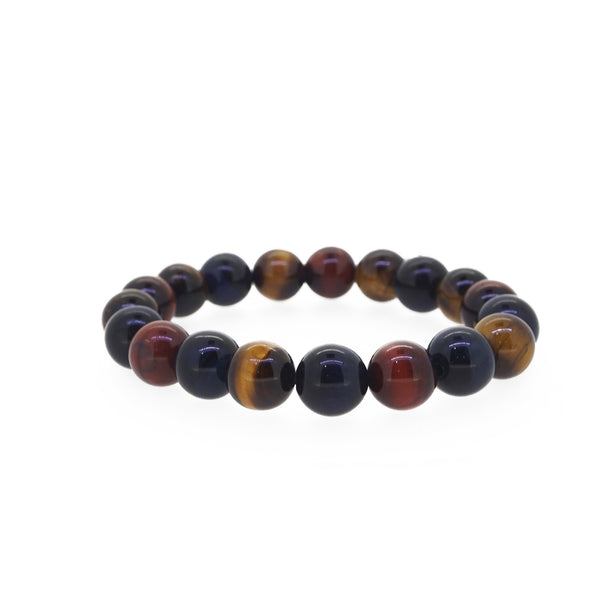 Tricolor Tiger Eye 10mm - Gaea | Healing Crystals and Gemstone Jewelry (Manila, Philippines)