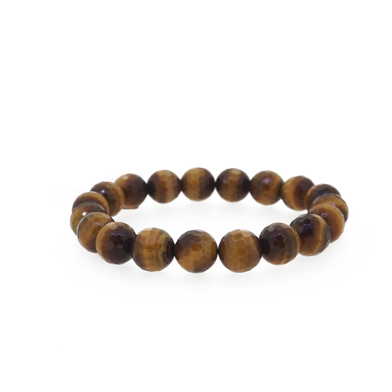 Tiger Eye Faceted 10mm - Gaea | Crystal Jewelry & Gemstones (Manila, Philippines)