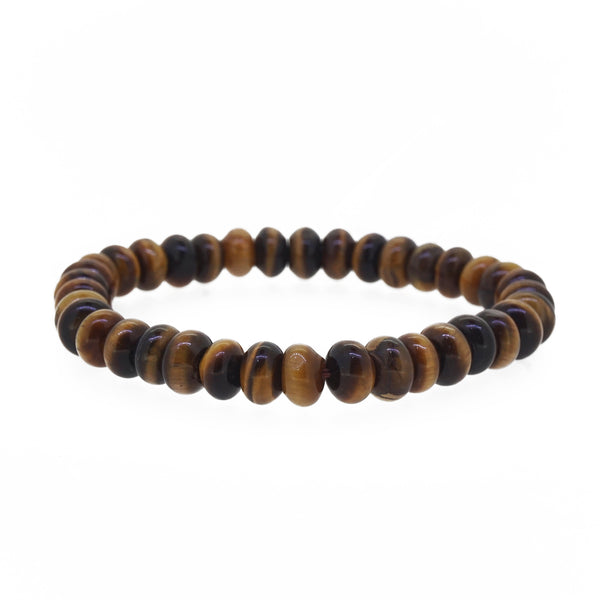 Tiger Eye Rondelle - Gaea | Crystal Jewelry & Gemstones (Manila, Philippines)