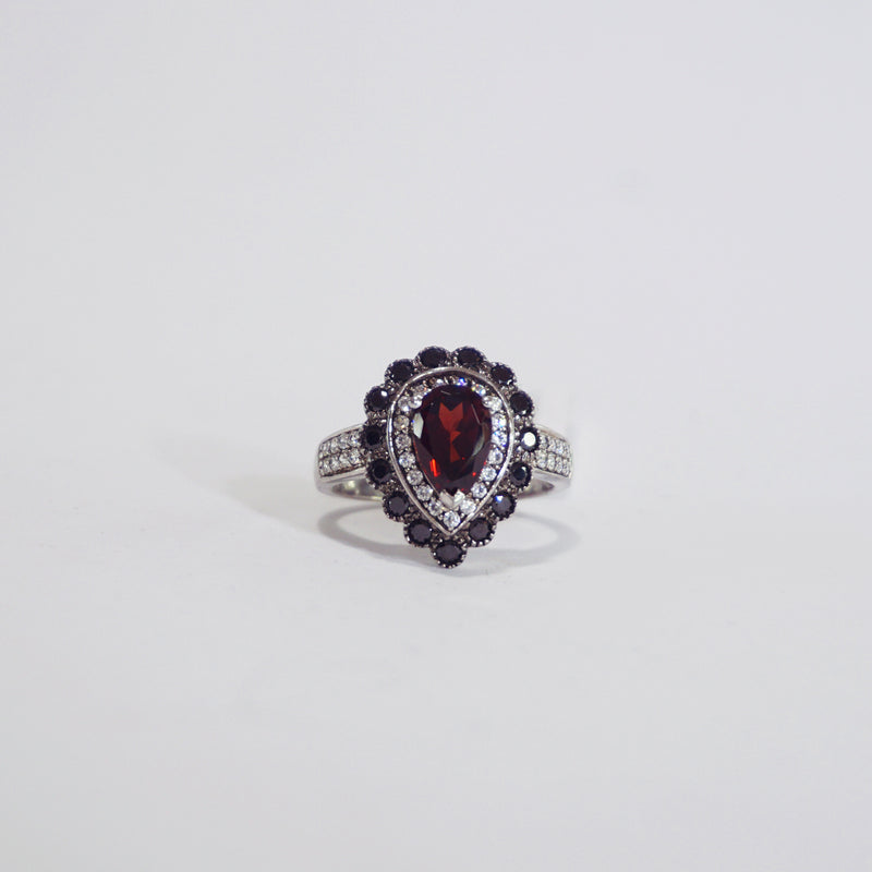 A-Grade Pyrope Garnet, Zirconia and Black Spinel - Gaea | Crystal Jewelry & Gemstones (Manila, Philippines)