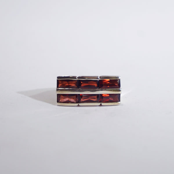 A-Grade Pyrope Garnet Rectangle - Gaea | Crystal Jewelry & Gemstones (Manila, Philippines)