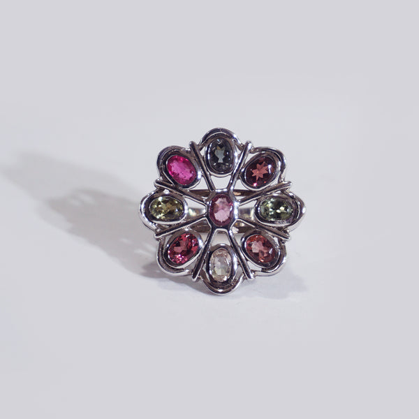 Multicolored Tourmaline Flower - Gaea | Crystal Jewelry & Gemstones (Manila, Philippines)
