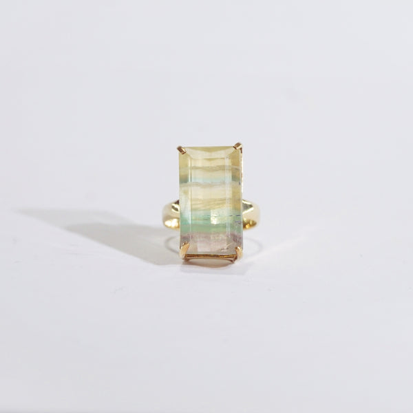A-Grade Banded Green and Yellow Fluorite - Gaea | Crystal Jewelry & Gemstones (Manila, Philippines)