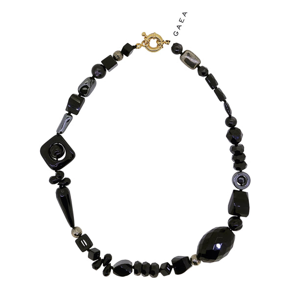 Onyx, Spinel, Hematite and Pyrite - Gaea | Crystal Jewelry & Gemstones (Manila, Philippines)