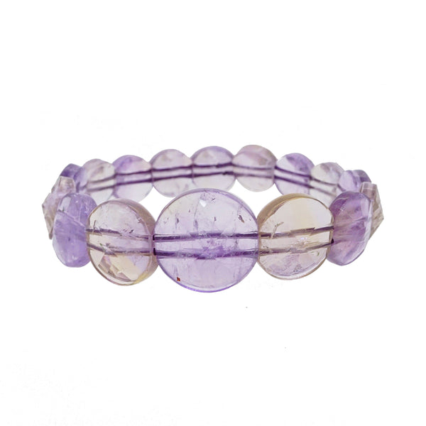 Ametrine Graduated Circles Bangle - Gaea | Crystal Jewelry & Gemstones (Manila, Philippines)