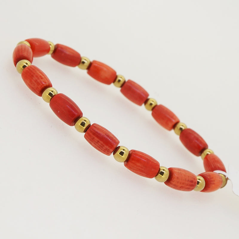 Japanese Coral with Gold Hematite - Gaea | Crystal Jewelry & Gemstones (Manila, Philippines)
