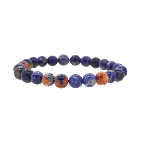 Orange Sodalite 8mm - Gaea | Crystal Jewelry & Gemstones (Manila, Philippines)