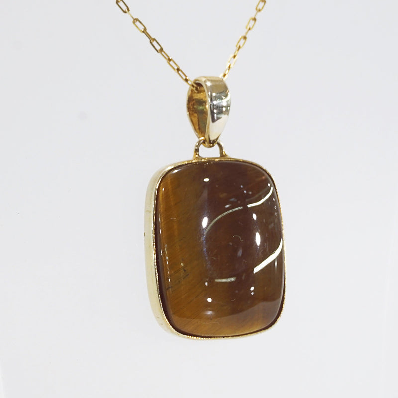A-Grade Tiger Eye Rectangle Cabochon - Gaea | Crystal Jewelry & Gemstones (Manila, Philippines)