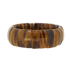 Tiger Eye Faceted Bangle - Gaea | Crystal Jewelry & Gemstones (Manila, Philippines)