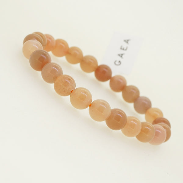 Peach Moonstone 8mm - Gaea | Crystal Jewelry & Gemstones (Manila, Philippines)