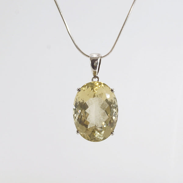 A-Grade Lemon Quartz Oval - Gaea | Crystal Jewelry & Gemstones (Manila, Philippines)