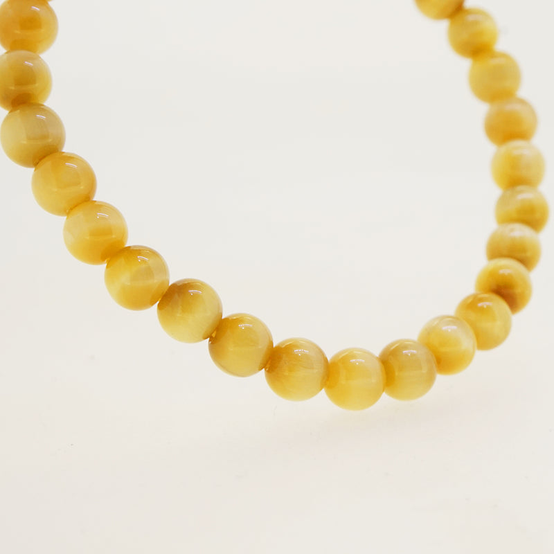 A-Grade Golden Tiger Eye 6mm - Gaea | Crystal Jewelry & Gemstones (Manila, Philippines)