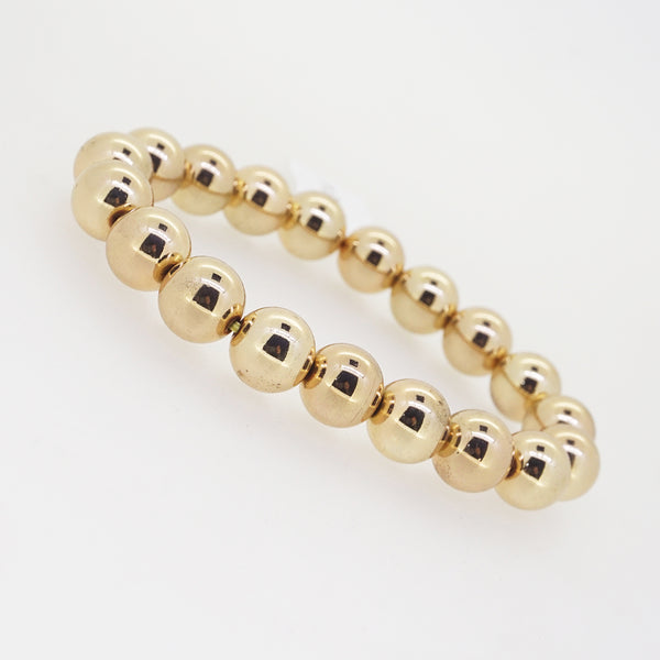 Gold-Plated Hematite 10mm - Gaea | Crystal Jewelry & Gemstones (Manila, Philippines)