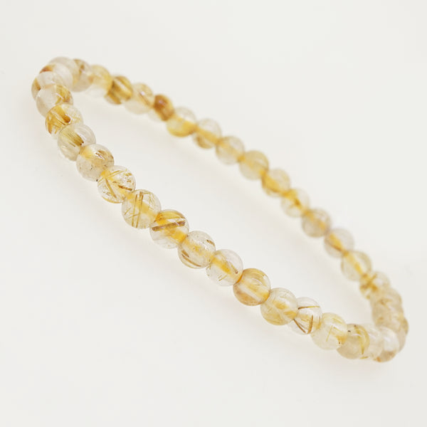 Golden Rutilated Quartz 5mm - Gaea | Crystal Jewelry & Gemstones (Manila, Philippines)