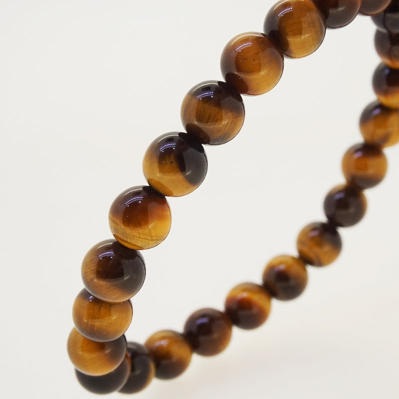 A-Grade Tiger Eye 8mm - Gaea | Crystal Jewelry & Gemstones (Manila, Philippines)
