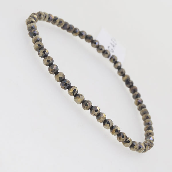 Pyrite Faceted 3.5mm - Gaea | Crystal Jewelry & Gemstones (Manila, Philippines)