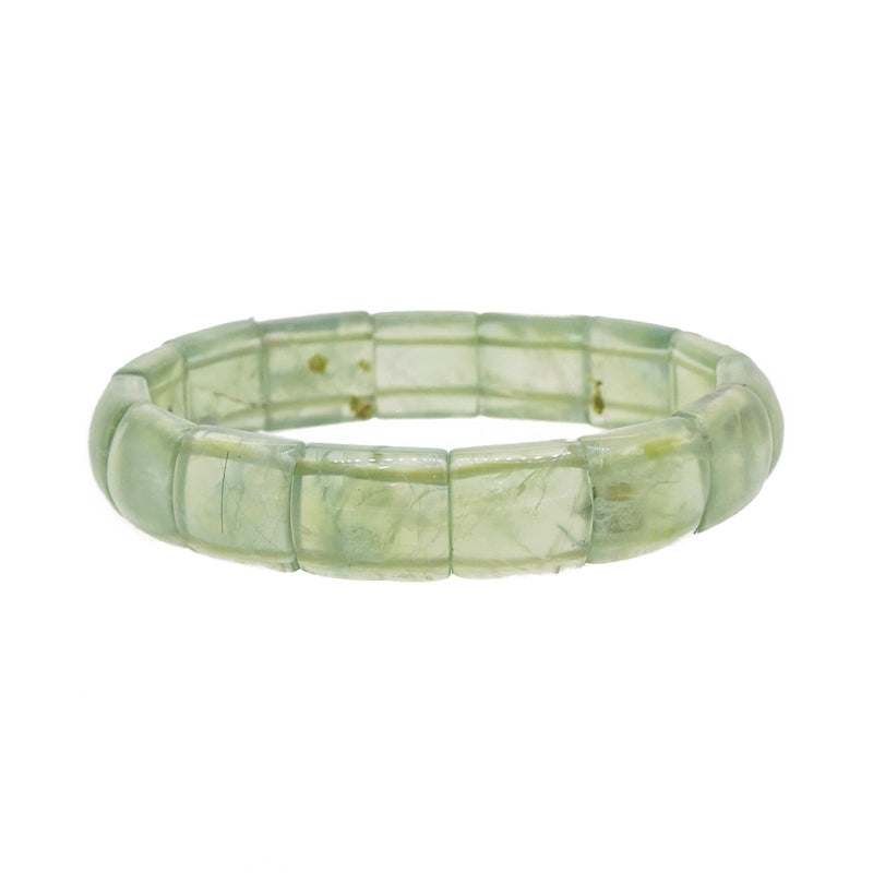 Prehnite Bangle (M) - Gaea | Crystal Jewelry & Gemstones (Manila, Philippines)