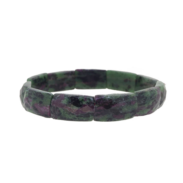 Ruby Zoisite Bangle - Gaea | Crystal Jewelry & Gemstones (Manila, Philippines)