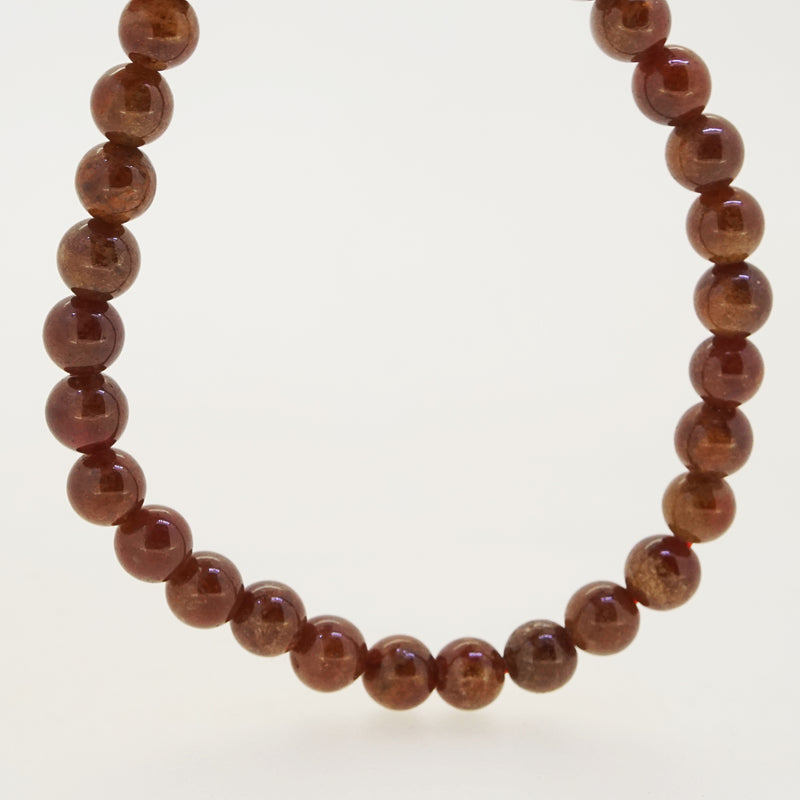 Hessonite Garnet 6mm - Gaea | Crystal Jewelry & Gemstones (Manila, Philippines)