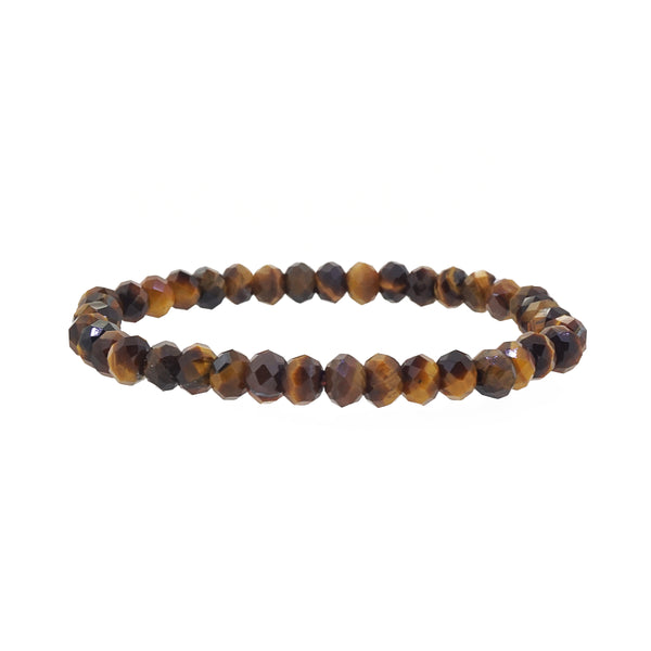 Tiger Eye Faceted Rondelle (S) - Gaea | Crystal Jewelry & Gemstones (Manila, Philippines)