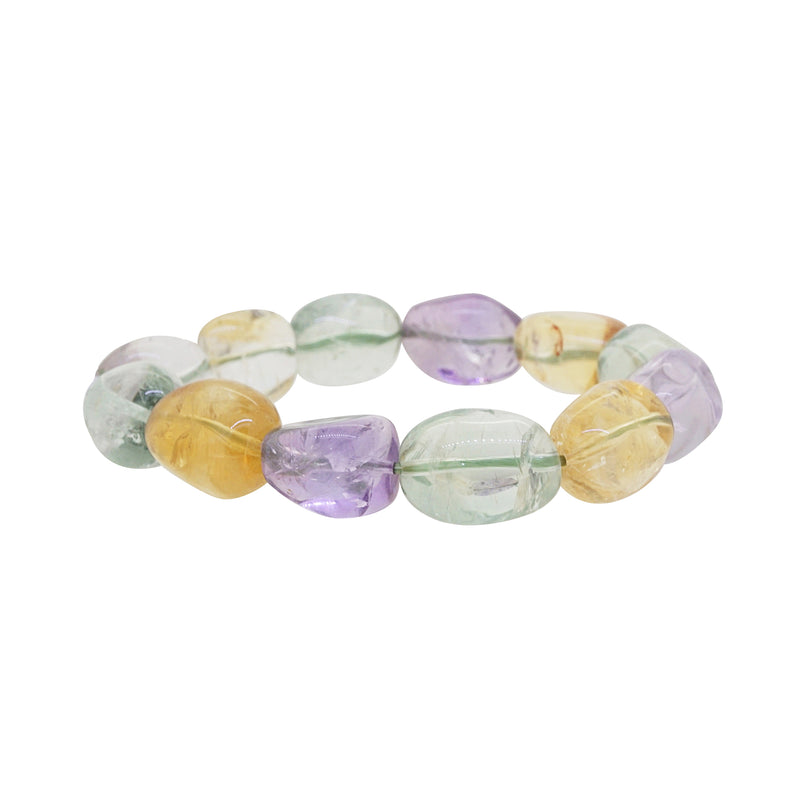 Amethyst, Citrine, Prasiolite Tumble - Gaea | Crystal Jewelry & Gemstones (Manila, Philippines)