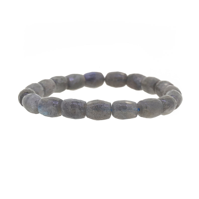 Labradorite Faceted Drum - Gaea | Crystal Jewelry & Gemstones (Manila, Philippines)