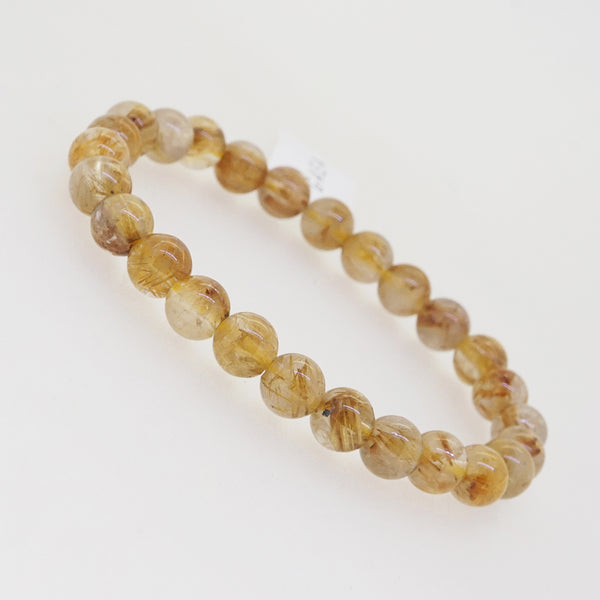 Golden Rutilated Quartz 7mm - Gaea | Crystal Jewelry & Gemstones (Manila, Philippines)
