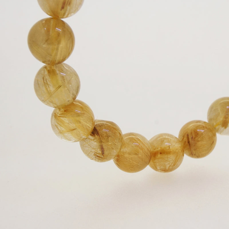 A-Grade Golden Rutilated Quartz 10mm - Gaea | Crystal Jewelry & Gemstones (Manila, Philippines)
