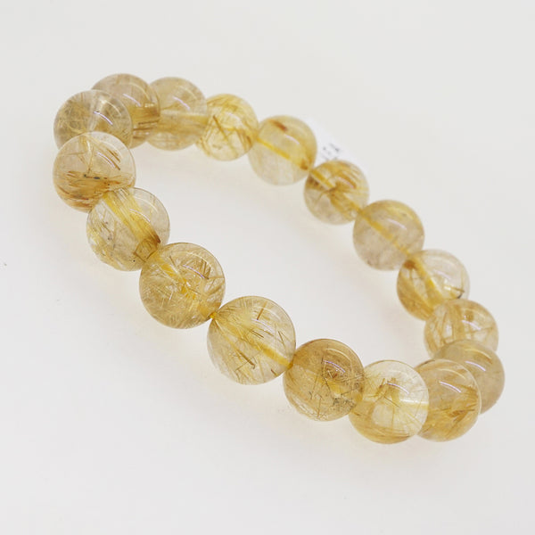 A-Grade Golden Rutilated Quartz 12mm - Gaea | Crystal Jewelry & Gemstones (Manila, Philippines)
