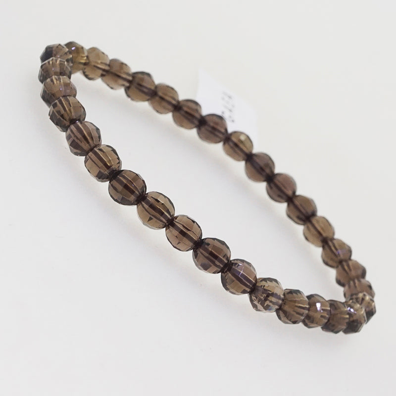 A-Grade Smoky Quartz Faceted 6mm - Gaea | Crystal Jewelry & Gemstones (Manila, Philippines)