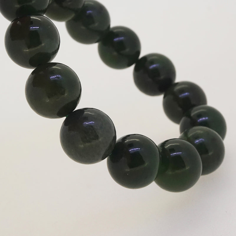Nephrite Jade 14mm - Gaea | Crystal Jewelry & Gemstones (Manila, Philippines)