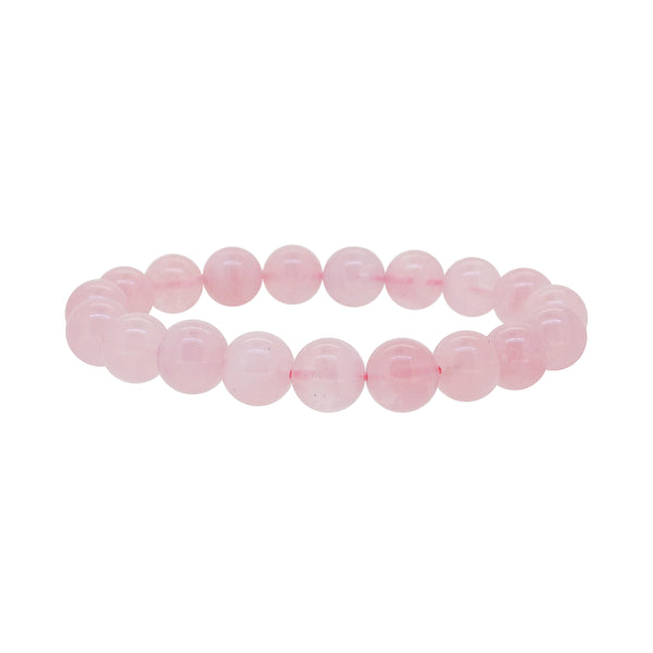 Madagascar Rose Quartz 10mm - Gaea | Crystal Jewelry & Gemstones (Manila, Philippines)