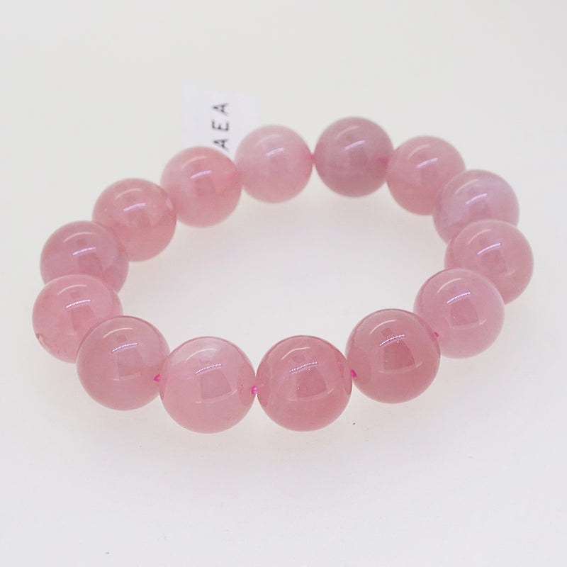 A-Grade Madagascar Rose Quartz 14mm - Gaea | Crystal Jewelry & Gemstones (Manila, Philippines)