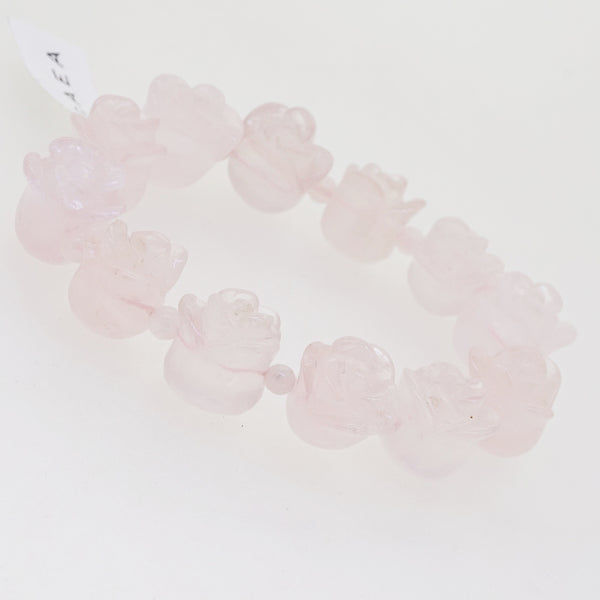 Rose Quartz Flower - Gaea | Crystal Jewelry & Gemstones (Manila, Philippines)