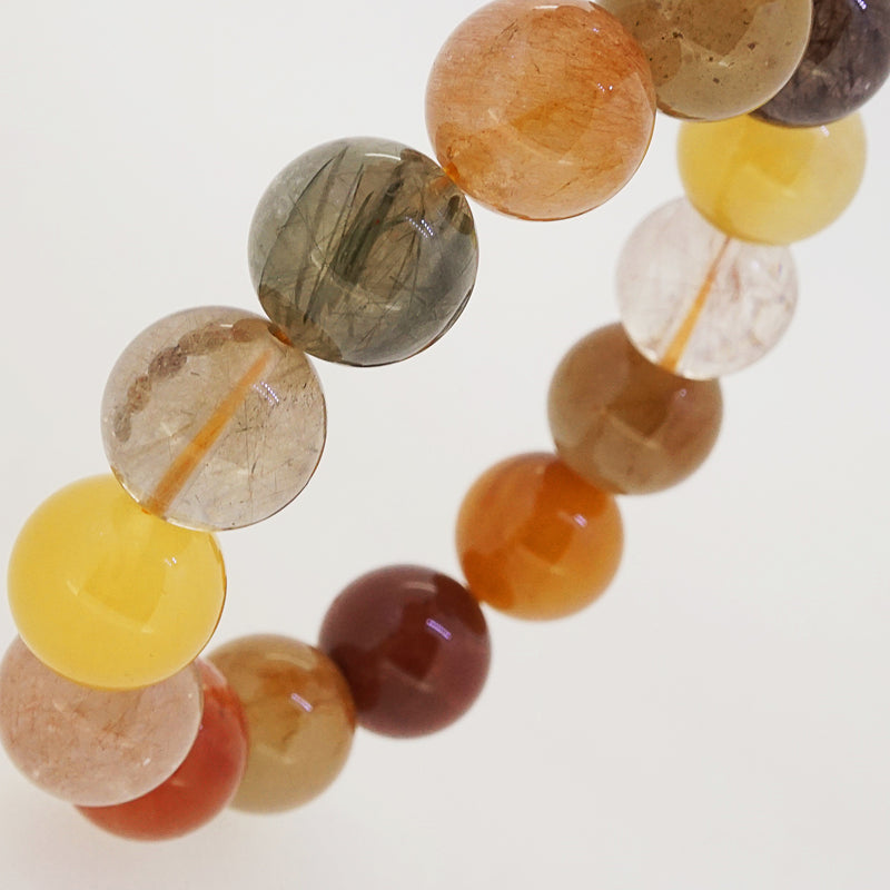 Multicolored Rutilated Quartz 14mm - Gaea | Crystal Jewelry & Gemstones (Manila, Philippines)
