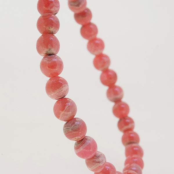 Rhodochrosite 6.5mm - Gaea | Crystal Jewelry & Gemstones (Manila, Philippines)